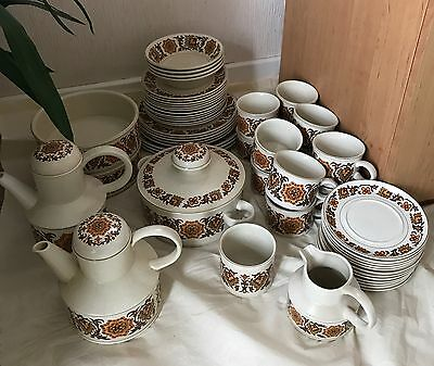 Vintage Stonehenge Midwinter 55 Piece Set