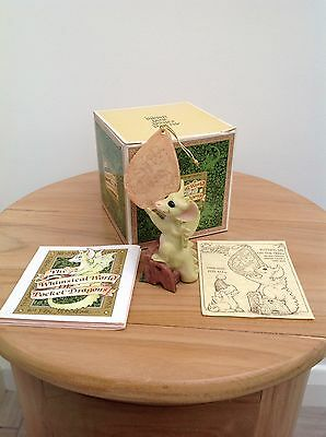The Whimsical World Of Pocket Dragons - 1990 Putting Me On The Tree -RARE