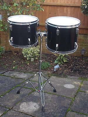 """Drums - 13"""" & 12"""" Toms with Stagg Stand"""