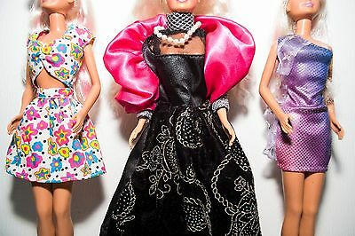 LOOK 3 90s SINDY DOLLS IN LOVELY GOWNS