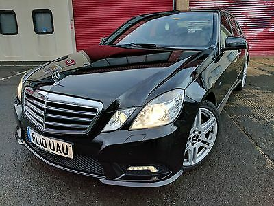 Mercedes E-Class 2010 E250 2.1 Cdi Sport Black Amg Blue Efficiency