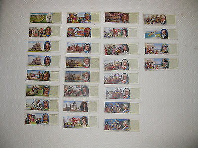 Typhoo Tea Cards - Interesting Events in British History - Part Set