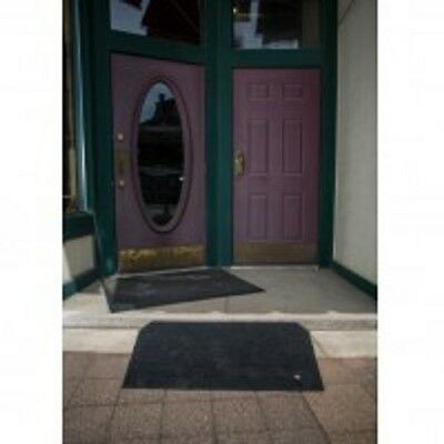 """EZ Access Angled Entry Mat 2.5"""" Rise Ramp - Black Color"""