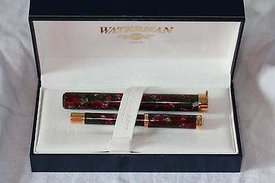 Waterman Lady Agathe Fountain Pen And Carrying Tube