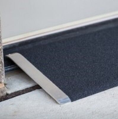 """EZ Access Angled Entry Plate 8"""" X 32"""" Portable Door Threshold Ramp"""