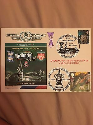 Birmingham v Liverpool Football First Day Cover 2001