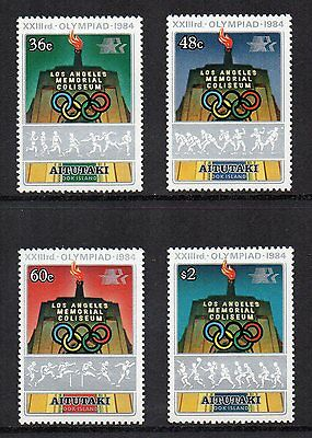 AITUTAKI (Cook Is.) - 1984, Los Angeles Olympic Games, MNH