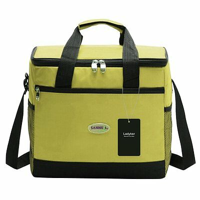 Ladyker Large Insulated Lunch Bag,Cooler Bag,Lunch Box,24-Can Picnic Lunch Tote