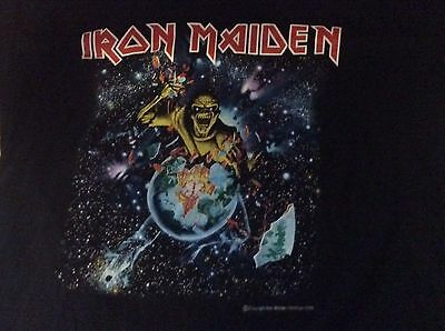 Iron Maiden Early DaysTour Shirt Size XL