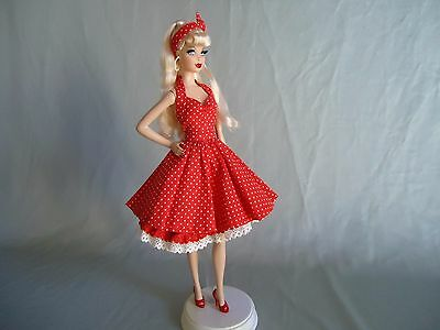 Barbie Outfit Handmade To Model Muse Body And Silkstone