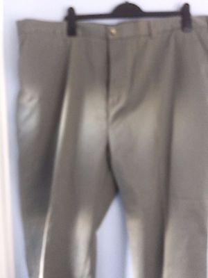 Mens Cotton traders Chinos soft sage colour-46w/31 leg-BNWOT