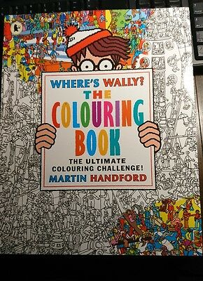 Where's Wally? The Colouring Book by Martin Handford 9781406367300
