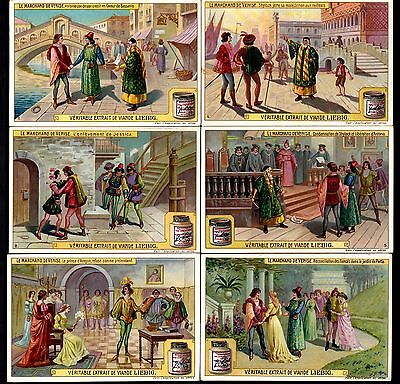 Liebig Tradecards S939 The Merchant of Venice (Belgian Issue) 1908
