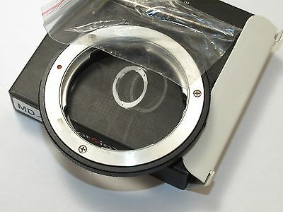 Lens adapter ring FOTODIOX  Minolta MD/X/XK mount to fit on Four-Thirds Digital