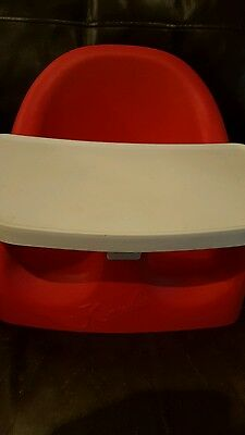 Karibu Baby Seat With Removable Tray, Red.