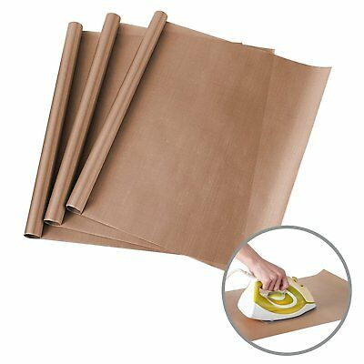 3 Pack 16x20 Teflon Sheet For Ironing Heat Press Machine Transfer Sheet Pressing