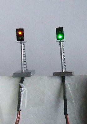 Z0C,4 model signals,N scale signal ,12V