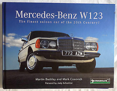 Mercedes Benz W123 Signed Book - Martin Buckley & Mark Cosovic