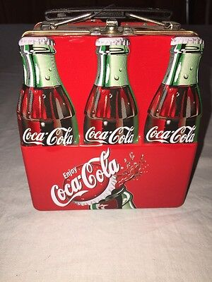 Coca-Cola Coke 6 Pack Metal Lunch Box   SEALED/NEW