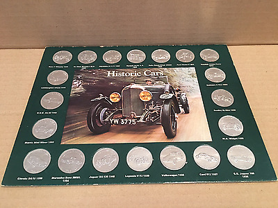 Historic Cars from Shell Coin Collection