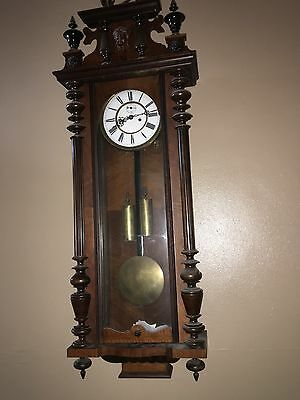 Wall Clock Vienna Double Weight