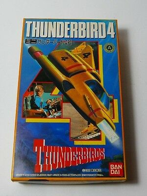 Thunderbirds vintage Bandai Thunderbird 4 with wind up action model kit 1992