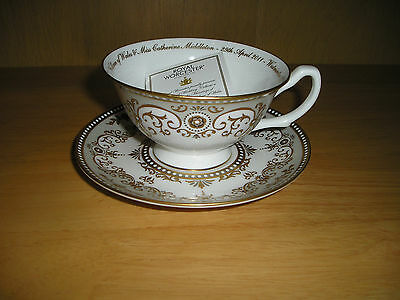 William & Catherine Royal Wedding Cup & Saucer