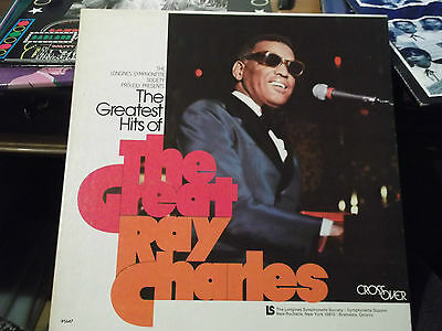 Ray Charles: The Greatest Hits of the Great Ray Charles, 5 LP-Box, LS 95647, top