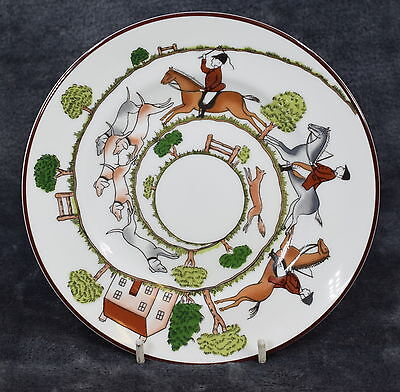Hunting Scene By Robert Horne For Crown Staffordshire - New - Boxed