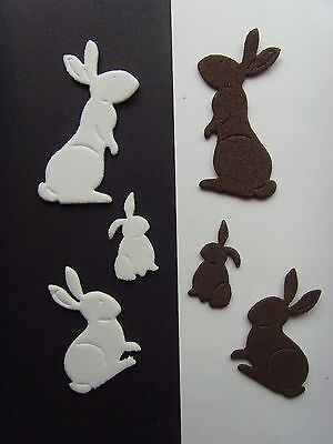 Easter card toppers lambs bunnies craft clearance sale