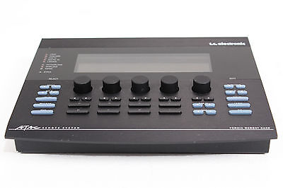 *RARE* TC Electronic ATAC Remote Control System for M5000 M-5000 w/ PSU & Cable