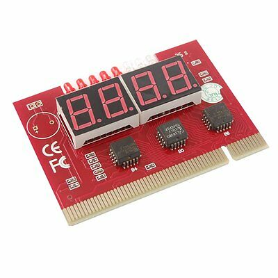 PC 4 Digit PCI Card Motherboard Diagnostic Analyzer Tester S3G7
