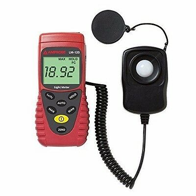 AMPROBE Light Meter Silicon Photodiode and Filter Model # LM-120