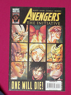 Avengers The Initiative #10 Marvel Comic 2008 Ant Man, (Van) Scarlet Spider Dies
