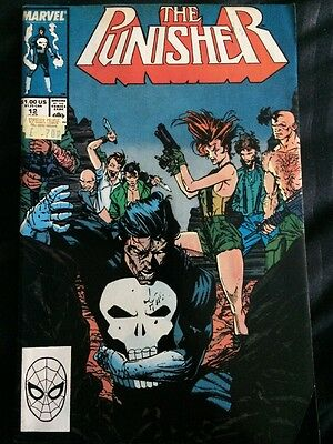 The Punisher - Vol 2, #12 - Oct 1988 - Vf