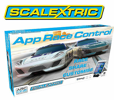 Scalextric C1329 App Race Control (ARC) Cars Set 1:32 Scale 3 Track Layouts