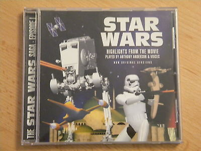 Star Wars CD Soundtrack Highlights from the movie Episode 1