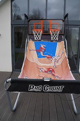 Pro Court Basketball Game Shootout Hoops Indoor Outdoor Toys Basket Ball Games