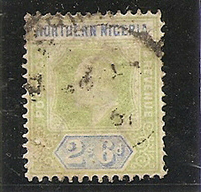 NORTHERN NIGERIA 1902  2s 6d  SG17 used