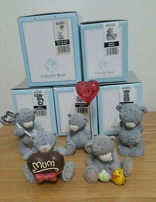 Job Lot 5X Me To You Bears Figurines 2001-2003 Boxed