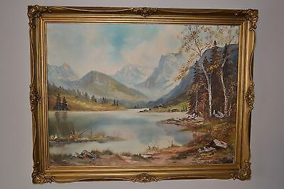Very Large Oil Painting On Canvas