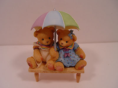 "Cherished Teddies ""Carter and Elsie"" Retired  We're Friends...- FREE SHIPPING!"