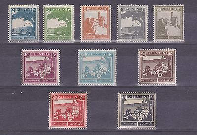 Palestine Mandate Nice Mnh Selection Of 10 Stamps (Pre-Israel)
