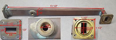 """13"""" Microwave Waveguide adapter"""