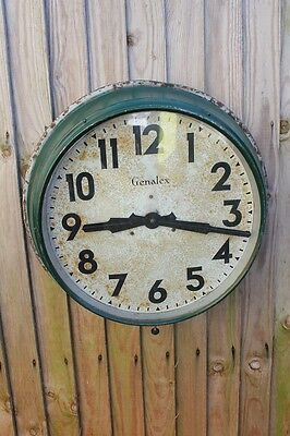 large smiths indutrial wall clock