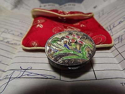 Vintage chinese pill box