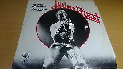 "Judas Priest 12"" picture sleeve Take on the World 12-6915"