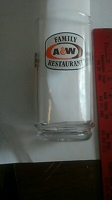 A & W Root Beer Glass - The Great Root Bear