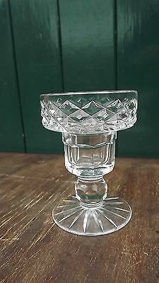 Tyrone  Crystal footed candlestick 9.5cm tall Fully stamped