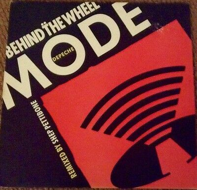 Depeche Mode Behind the wheel 12 inch vinyl record